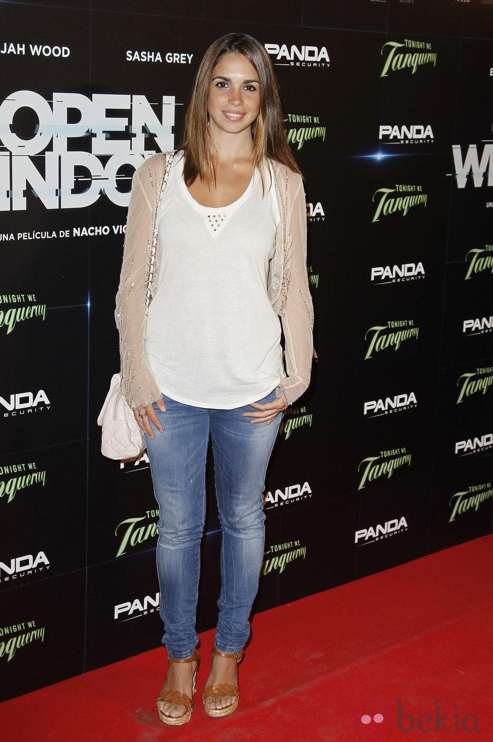 Elena Furiase en el estreno de 'Open Windows' en Madrid