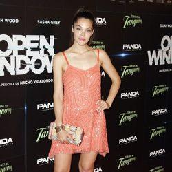 Ana Rujas en el estreno de 'Open Windows' en Madrid