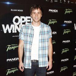 Bernabé Fernández en el estreno de 'Open Windows' en Madrid