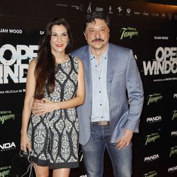 Carlos Bardem y Cecilia Gessa en el estreno de 'Open Windows' en Madrid