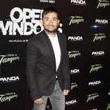Juan Antonio Bayona en el estreno de 'Open Windows' en Madrid