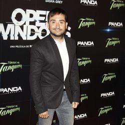 Juan Antonio Bayona en el estreno de 'Open Windows' en Madrid