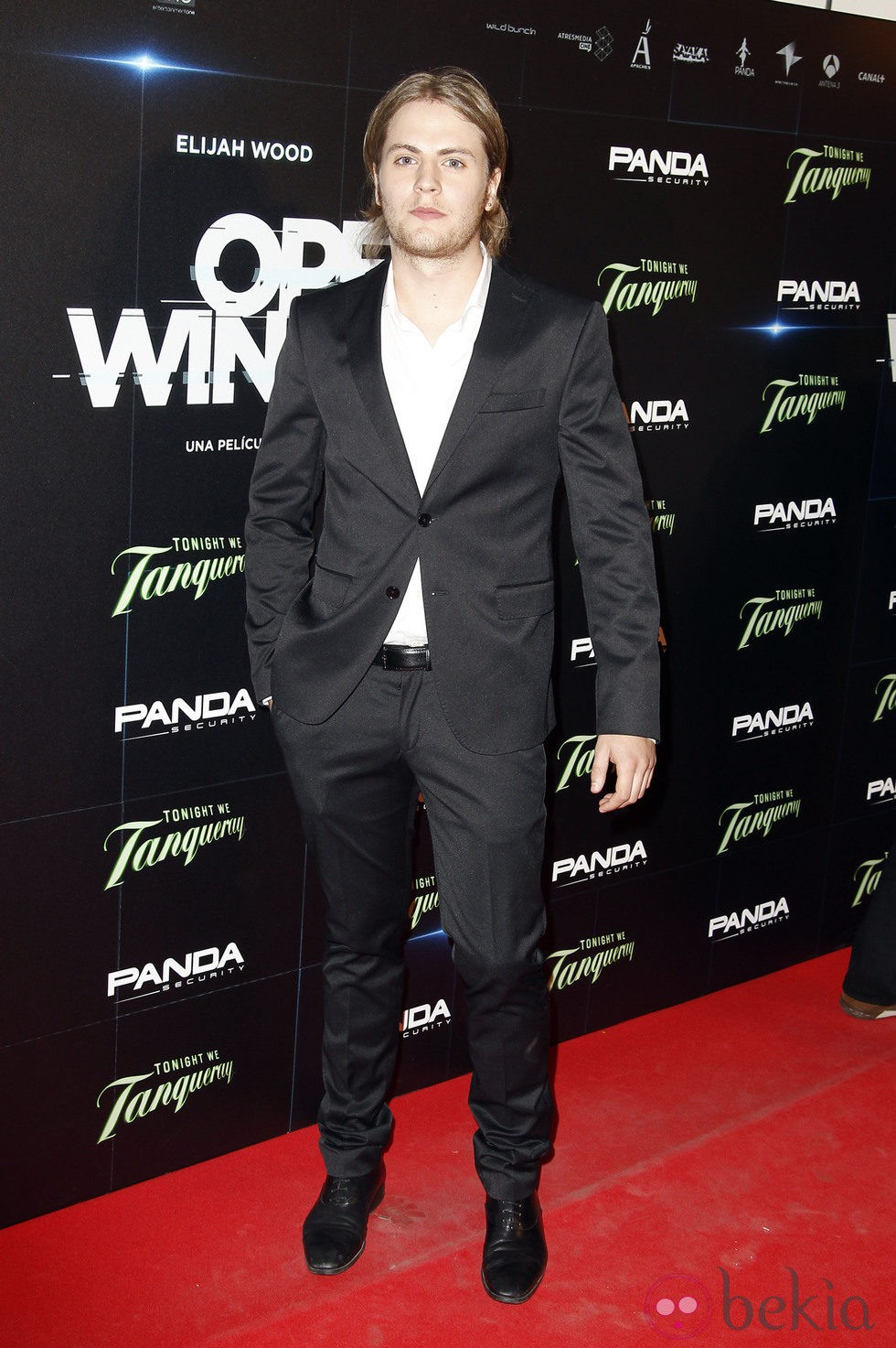 Jaime Olías en el estreno de 'Open Windows' en Madrid