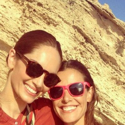 Raquel Sánchez Silva y Eugenia Silva disfrutando de Formentera