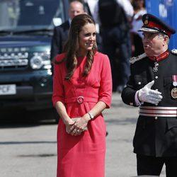 Kate Middleton visita un proyecto solidario en una escuela de Londres