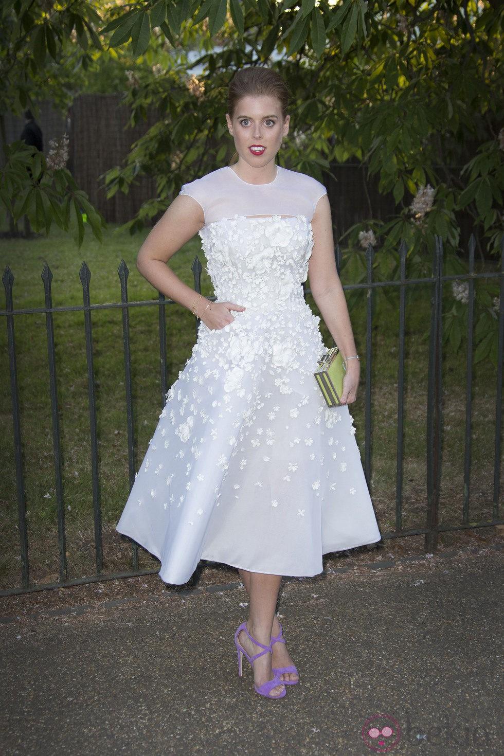 La princesa Beatriz de York en la Serpentine Gallery Summer Party 2014