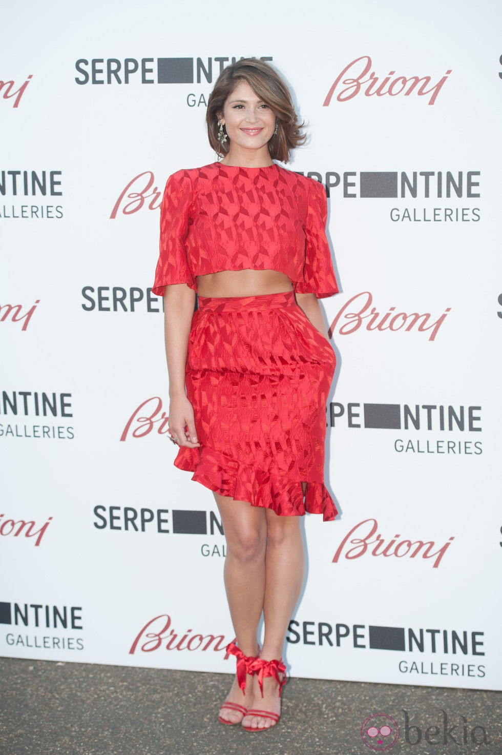 Gemma Arterton en la Serpentine Gallery Summer Party 2014