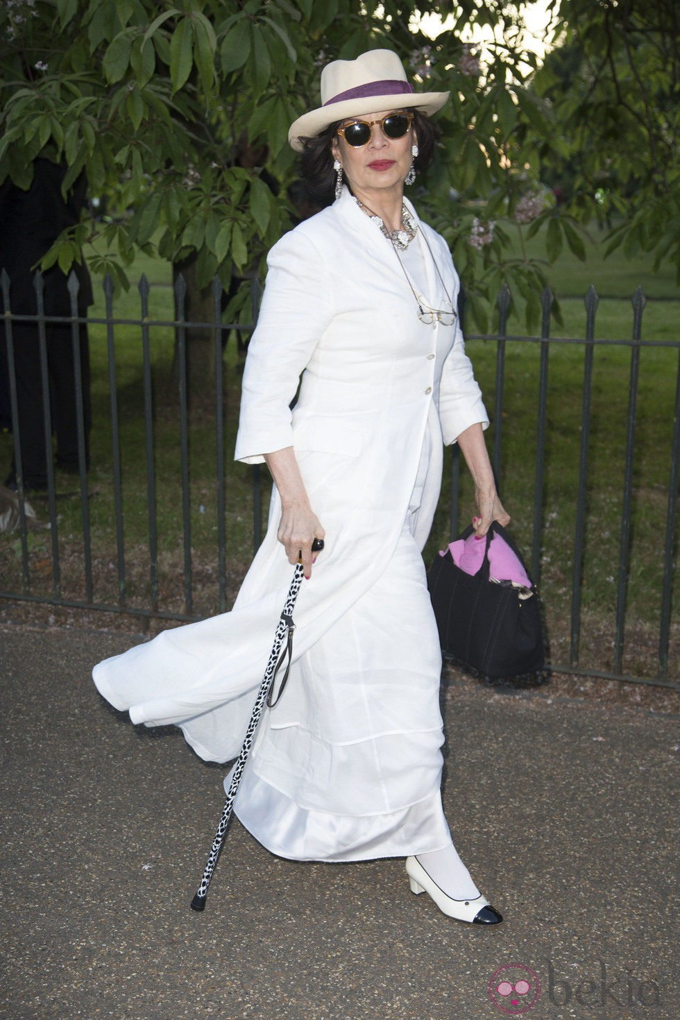 Bianca Jagger en la Serpentine Gallery Summer Party 2014
