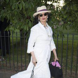 Bianca Jagger en la Serpentine Gallery Summer Party 2014