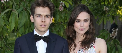 Keira Knightley y James Righton en la Serpentine Gallery Summer Party 2014