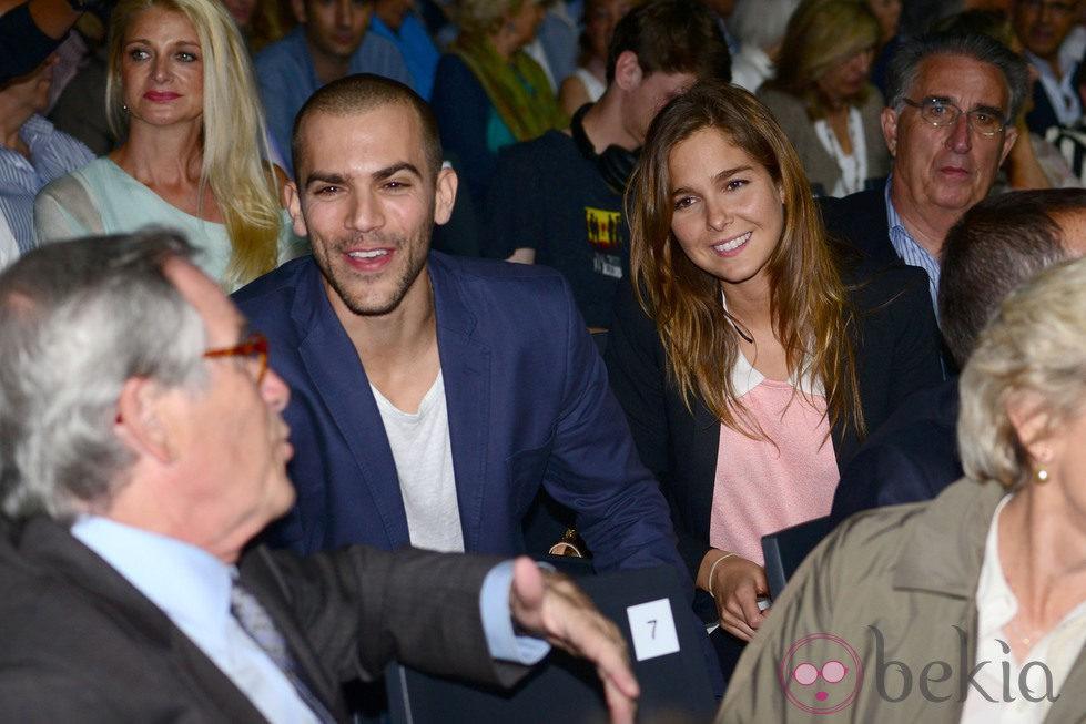 Marc Clotet y Natalia Sánchez en el concierto de Kevin Costner en Barcelona