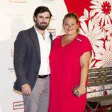Caritina Goyanes y Antonio Matos en los Premios Corazón Solidario