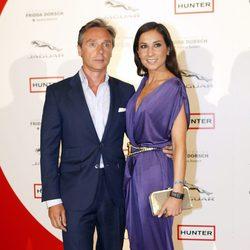 Israel Bayón y Cristina Sainz en los Premios Corazón Solidario