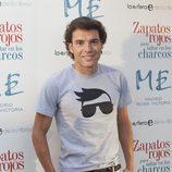 Antonio Rossi en la presentación de la primera novela de Nacho Montes