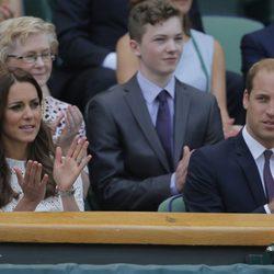 Los Duques de Cambridge en Wimbledon 2014