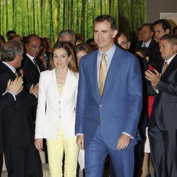 Los Reyes Felipe y Letizia en la entrega de 'Becas y Ayudas a la Investigación' de la Fundación Iberdrola