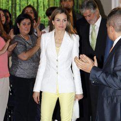 La Reina Letizia en la entrega de 'Becas y Ayudas a la Investigación' de la Fundación Iberdrola