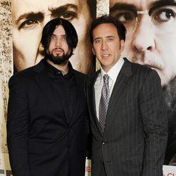 Nicolas Cage con su hijo Weston