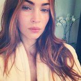 Megan Fox sin maquillaje en su primera selfie en Instagram