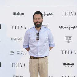 Juanjo Oliva en el desfile 'La moda en la calle'