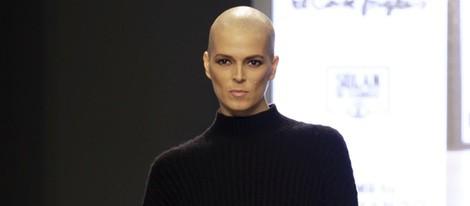 Bimba Bosé en el desfile 'La moda en la calle'