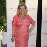 Carmen Borrego en su despedida de soltera