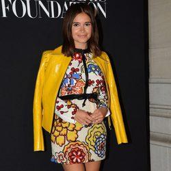 Miroslava Duma en la fiesta Vogue de la Semana de la Alta Costura de París otoño 2014