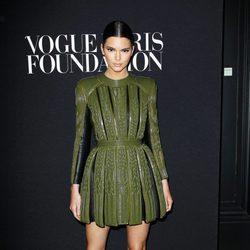 Kendall Jenner en la fiesta Vogue de la Semana de la Alta Costura de París otoño 2014