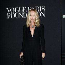 Frida Giannini en la fiesta Vogue de la Semana de la Alta Costura de París otoño 2014