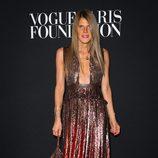 Anna Dello Russo en la fiesta Vogue de la Semana de la Alta Costura de París otoño 2014