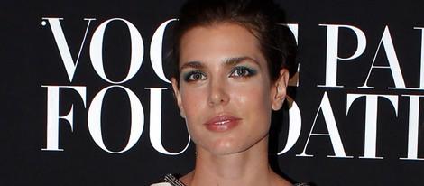 Carlota Casiraghi en la fiesta Vogue de la Semana de la Alta Costura de París otoño 2014