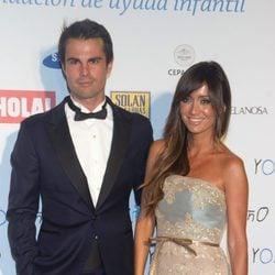 Curi Gallardo y Marta González en un acto de la Fundación 'Yo Niño'