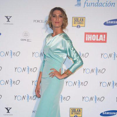 Laura Sánchez en un acto de la Fundación