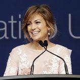 Jennifer López en la Convención de la Liga de Ciudadanos Latinoamericanos