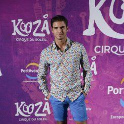 Maxi Iglesias en el estreno del espectáculo del Circo del Sol 'Kooza' en Port Aventura
