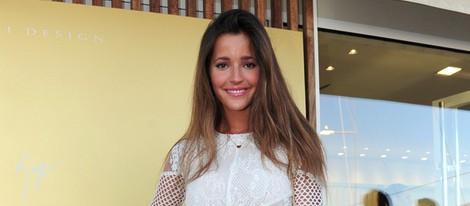 Malena Costa en la apertura de una tienda Giuseppe Zanotti en Ibiza