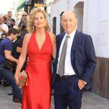 José Manuel Soto y Pilar Parejo en la boda religiosa de Fran Rivera y Lourdes Montes en Sevilla