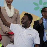 Pelé en la final del Mundial 2014