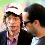 Mick Jagger en la final del Mundial 2014