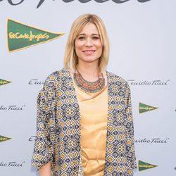 Carla Hidalgo en el desfile de Emidio Tucci para la temporada primavera/verano 2015