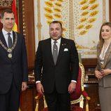 El Rey Felipe VI y la Reina Letizia son condecorados con la distinción de la orden de Ouissam Alaouite por Mohamed VI