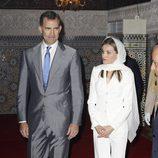 Los Reyes Felipe y Letizia en el Mausoleo del Rey Mohamed V en Rabat