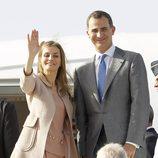 Los Reyes Felipe y Letizia finalizan su viaje oficial a Marruecos