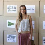 Ana Fernández en el desfile de Jockey de la MFSHOW primavera/verano 2015