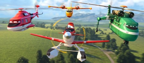 Fotograma de 'Aviones: Equipo de rescate'
