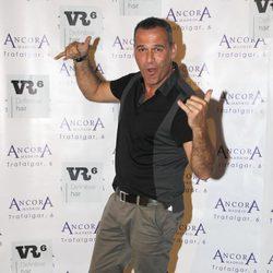 Carlos Lozano en la presentación del disco 'Punto de Partida' de las Azucar Moreno