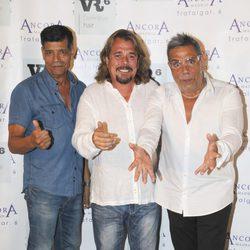 Lon Chunguitos con el actor Juán Muñoz