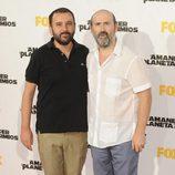 Javier Cámara en el estreno de 'El amanecer del planeta de los simios' en Madrid