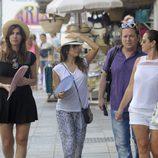 Eva Longoria de compras en Marbella