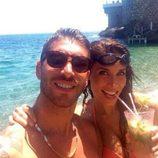 Sergio Ramos y Pilar Rubio disfrutan de un cóctel en la playa